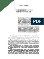 Anders - Une interprétation de l'a posteriori.pdf