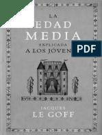 01 Le Goff La Edad Media012