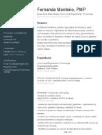 Currículo Fernanda Monteiro
