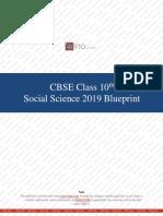 CBSE Class 10th Social Science 2019 Blueprint.pdf