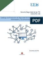 CCN-STIC-105 Catálogo Productos STIC
