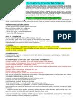 PROTOCOLO DE CURACION CON SYNADENIUM