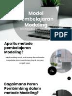 MODEL PEMBELAJARAN MODELING