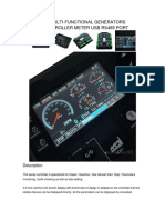 4.3 inch LCD MULTI-FUNCTIONAL GENERATORS GENSET CONTROLLER DC72D