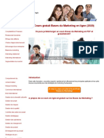 Cours Bases Marketing Gratuit