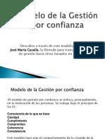modelo de gestion por confianza