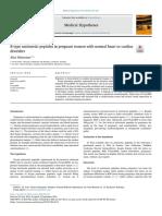 B-type natruretic peptides in prenancy