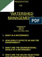 Watershed Management. Original