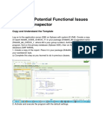 Search for Potential Functional Issues with Code Inspector