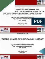 COLEGIO A DOS AGUAS - SESIÓN 07 Y 08