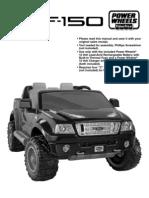 instructiuni de montare Ford F 150