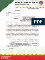 OFICIO DE GM A empresas para planos y desconectar