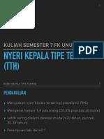 TTH semester 7 2018