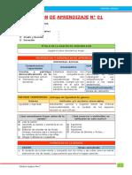2.- Sesiones de aprendizaje - Unidad Didáctica I - Editora Quipus Perú.docx