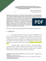 Artigo Pronto _ Metodologia Para Dimensionamento de Pontes Rolante Segundo a Abnt Nbr 8400 e Análise Estrutural Pelo Método de Elementos Finitos.