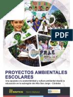 Proyectos Ambientales Escolares- PRAES; una apuesta a la sostenibilidad y cultura ambiental desde la educación en la subregión del Alto San Jorge, en Córdoba