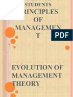 Evolution of Management Theory 4