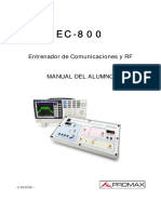 entrenador EC-800-alumno