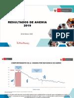 Resultados Anemia Endes 2019