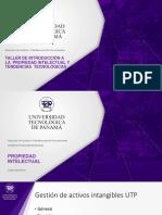 Completo - Taller de Introducción a la propiedad industrial y Tendencias Tecnológicas