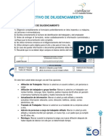 Instructivo diligenciación del Formato de Afiliacion de trabajador 2019