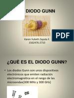 EL DIODO GUNN