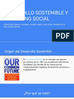 DESARROLLO SOSTENIBLE Y MARKETING SOCIAL