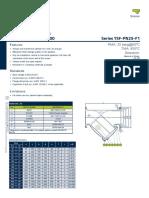 filtro tipo y YSF-PN25-F1