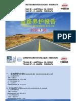 mantenimiento de la carretera