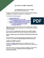 Instalar Kali Linux Live en un USB o Tarjeta SD.docx