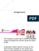Assignment in Ppt