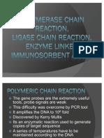 PCR LCR ELISA