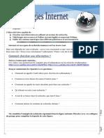 Cahier Elève-Internet