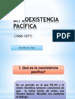 COEXISTENCIA PACÍFICA