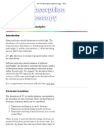 UV-Vis Absorption Spectroscopy - Theory