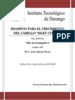 Shampoo para el Crecimiento de cabello Protocolo