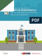 Nueva oportunidad para el licenciamiento de la universidad San Luis Gonzaga de Ica
