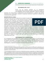 Derechos Humanos EDOMEX - Recomendación 2019 - 01