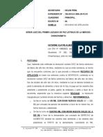 Recurso de Apelacion de Sentencia -Katerine Clayre Alberto Garcia