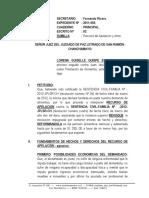 Recurso de Apelacion de Sentencia - Lorena Quispe Espinoza