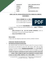 Recurso de Apelacion - Ronald Brenner de La Cruz Torres