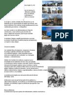 La Modernizacion y Urbanizacion Durante El Siglo XX y XXI