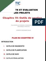 Cours Conduite et evaluation de projet-Chap IV-Outils de gestion des projets