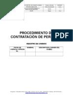 PROCEDIMIENTO DE CONTRATACION