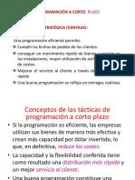 4.0 PROGRAMACIÓN A CORTO_E20
