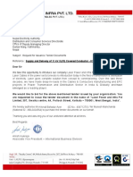 TENDER PURCHASE - XLPE COVER