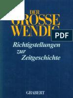 Kosiek Rolf u Rose Olaf Der Grosse Wendig Richtigstellungen Zur Zeitgeschichte Band 3