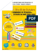 ANAIS DO I SEMINÁRIO DE PESQUISA E EXTENSÃO DA UNEB_ XIQUE-XIQUE