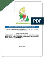 Bases Int. ADS No 031-2014, Butacas