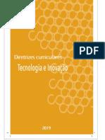 Diretrizes Curriculares Tecnologia e Inovação